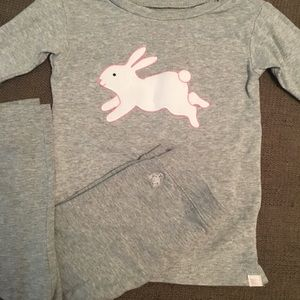 GAP Girls 2T Play Outfit Like New Gray Long Sleeve
